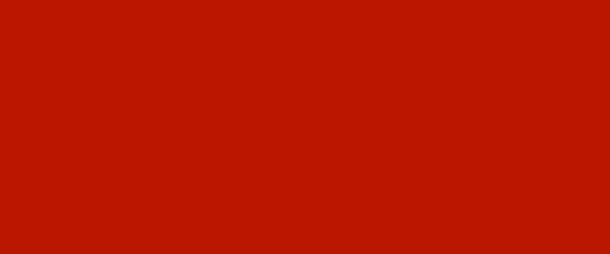red background banner