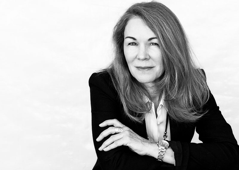 Black and White photo of Diane E. Greig