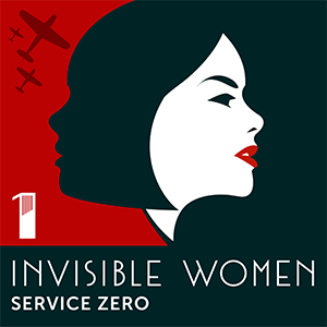 Invisible Women Logo with title of epsiode: Service Zero