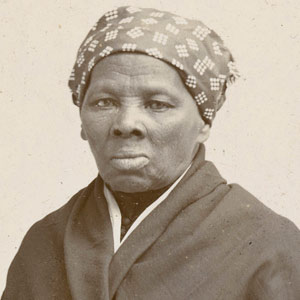 Sepia tone photograph of Harriet Tubman