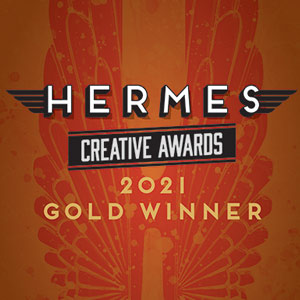Heremes Creative Awards 2021 Gold Winner