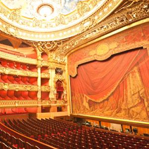 Photograph of the Interior of the Paris Opera